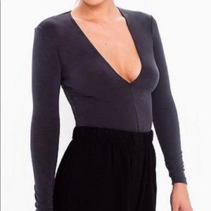 Brushed Jersey Venture Top by American Apparel